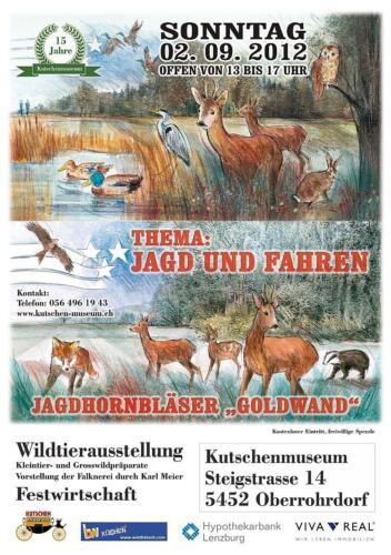 Sonderausstellung - 15 Jahre Toni`s Kutschen-Museum 2012